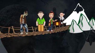 Đố bạn tìm giải pháp giúp 4 người chạy thoát khỏi zombies khát máu