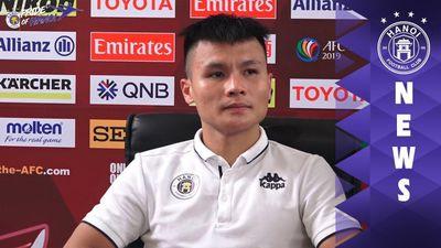 Quang Hải nói gì khi lập 2 siêu phẩm vào lưới Altyn Asyr ở AFC Cup?