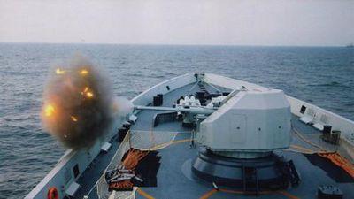 Điểm mặt các loại hải pháo trên tàu chiến Trung Quốc hiện nay