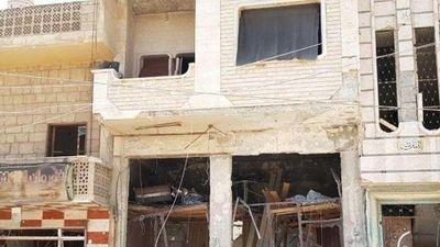 Video mức độ tàn phá Khan Sheikhun sau khi sạch bóng khủng bố