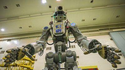 Robot giống hệt con người vừa được Nga phóng lên không gian