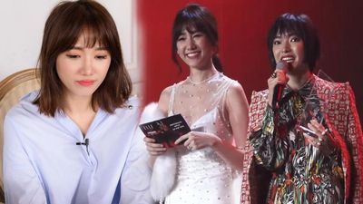 Hari Won bị 'ném đá' vì sự cố đọc tên Châu Bùi thành từ nhạy cảm