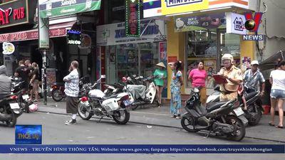 Tăng cường xử phạt người nước ngoài vi phạm luật giao thông