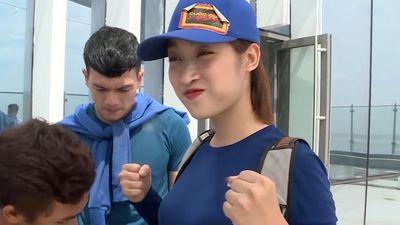 Hoa hậu Mỹ Linh tự hoàn thành thử thách ở Cuộc đua kỳ thú