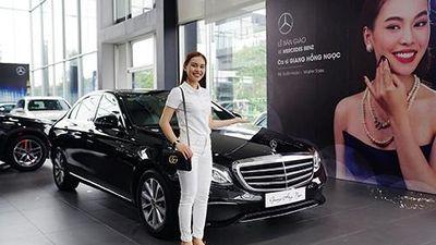 Giang Hồng Ngọc tậu xế sang Mercedes-Benz E-Class hơn 2 tỷ