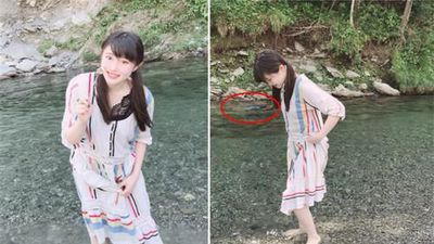 Đi dã ngoại ở sông, cô gái về nhà phát hiện chuyện kinh dị...