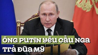 Ông Putin nói Nga đáp trả tương xứng Mỹ, nhưng không chạy đua vũ trang tốn kém