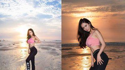 CLIP: 'Ngoẹt thở' trước thể hình của chân dài Hàn Quốc