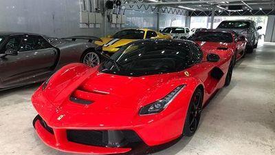 Dàn siêu xe hơn 500 tỷ đồng khoe dáng ở Hồng Kông