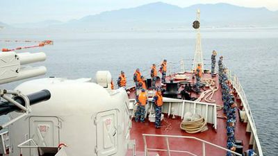 Khám phá cuộc sống thủy thủ trên chiến hạm 016 Quang Trung hiện đại
