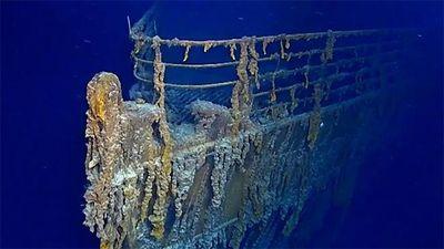 Xác tàu Titanic đang dần biến mất trong lòng đại dương