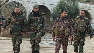 Tướng 'Hổ Syria' bay qua chốt quân sự của Thổ Nhĩ Kỳ ở Hama