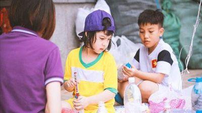Nhiều trường học ở Hà Nội nói không với rác thải nhựa