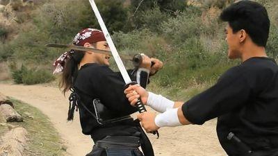 Màn đấu kiếm Nhật sinh tử giữa 2 samurai đỉnh cao
