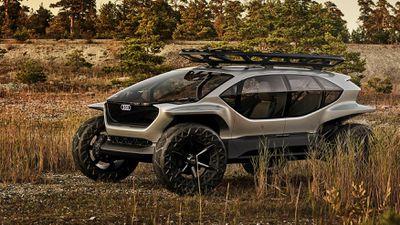 Audi Ai:Trail Quattro - Mẫu xe off-road như trong phim viễn tưởng