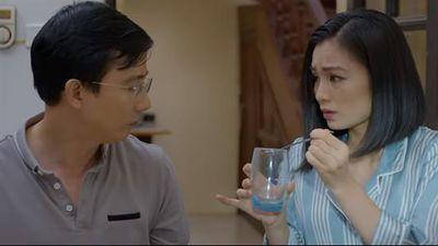 'Hoa hồng trên ngực trái' tập 15: San bị mẹ chồng bỏ chất lạ vào nước?