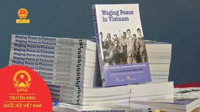RA MẮT SÁCH 'WAGING PEACE IN VIETNAM'