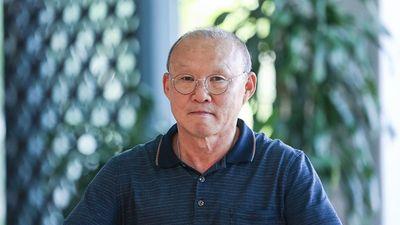 HLV Park rạng rỡ trong ngày tập trung tuyển Việt Nam