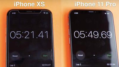 So sánh tốc độ của iPhone X, XS và 11 Pro