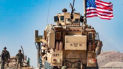 Xe thiết giáp Mỹ di chuyển gần biên giới Thổ Nhĩ Kỳ-Syria?