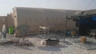 Bên trong căn cứ Mỹ vội vàng bỏ lại ở Syria