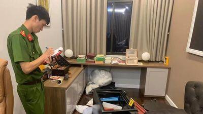 Bắt kẻ trộm két sắt tại nhà ca sĩ Nhật Kim Anh