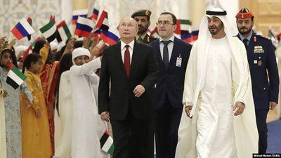 Màn chào đón hoành tráng của UAE dành cho Tổng thống Nga Putin