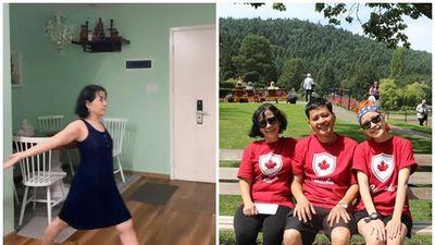 Đâu phải ai xa lạ, mẹ Chi Pu chính là PT 'xịn' với những bài tập giảm béo cực kỳ đáng yêu