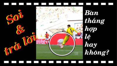 Trả lời video 'bàn thắng có được công nhận không?'