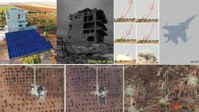 Tiêm kích Su-34 Nga 'không quên' ném bom phiến quân Syria ở Idlib