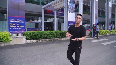 Vietnam Motor Show 2019 trước giờ khai màn