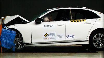 Video xe VinFast bị 'tra tấn' trong thử nghiệm của ASEAN NCAP