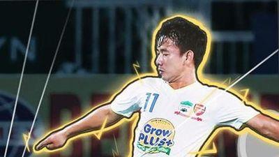 Minh Vương là vua phá lưới nội của V.League 2019
