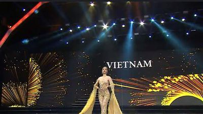 Miss Grand International: Kiều Loan đầy tự tin kết màn đêm thi bán kết