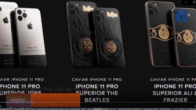 Độc đáo iPhone 11 Pro chế tác từ áo 'cổ rùa'