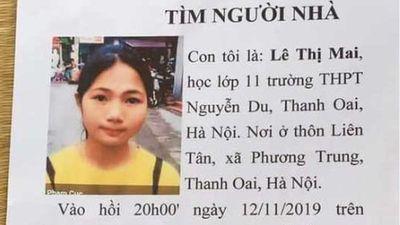 Nữ sinh lớp 11 mất tích khi đi học thêm ở nhà cô giáo