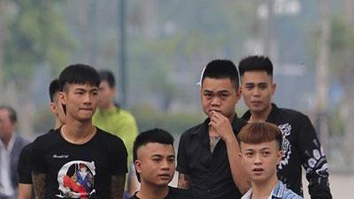 Hàng trăm đàn em giang hồ đến tòa theo dõi phiên xét xử Khá Bảnh
