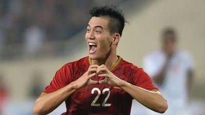 Tiến Linh ngày càng chơi hay ở tuyển Việt Nam