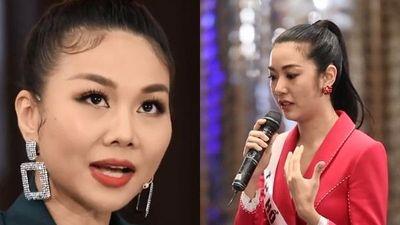 Thanh Hằng chất vấn Thúy Vân tin đồn đòi đổi giám khảo Hoa hậu Hoàn vũ Việt Nam 2019