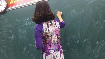 Học sinh 'đứng hình' khi cô giáo mặc trang phục này đứng lớp