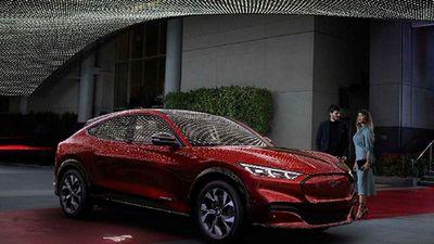 Xe điện Ford Mustang Mach-E chạy được 482km/1 lần sạc
