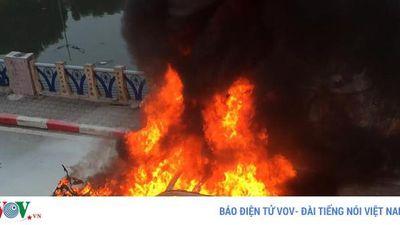 Tạm giữ hình sự nữ tài xế xe Mercedes gây tai nạn liên hoàn ở Hà Nội