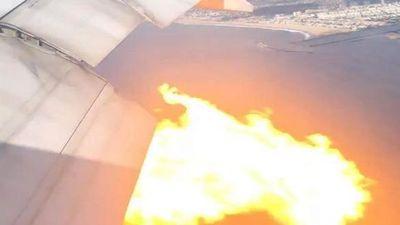 máy bay boeing 777 cháy