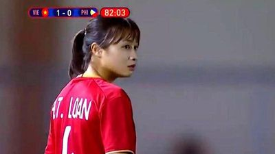 Cận cảnh nhan sắc 'lá chắn thép' của đội tuyển nữ Việt Nam tại SEA Game 30