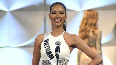 Hoa hậu Hoàn vũ 2019 nhiều sự cố, Hoàng Thùy vẫn tỏa sáng