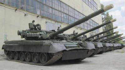 Soi độ ổn định 'chất' nhất thế giới của 'xe tăng bay' T-80BV Ukraine