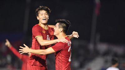 CLIP: U22 Việt Nam 'đè bẹp' U22 Campuchia, đụng độ U22 Indonesia tại chung kết