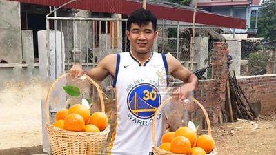Ảnh chế bóng đá: Đức Chinh, Văn Toản giúp U22 Việt Nam bóp nát 'quả cam'