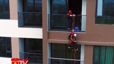 Trên thao trường của những người lính cứu hỏa Thủ đô