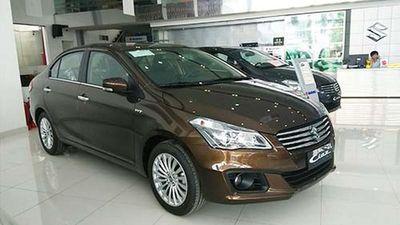Top xe nhập bán chậm tại Việt Nam, Suzuki Ciaz vẫn ế nhất